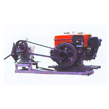 LONG ARM PADDLE WHEEL AERATOR DRIVEN BY DIESEL ENGINE & REDUCER